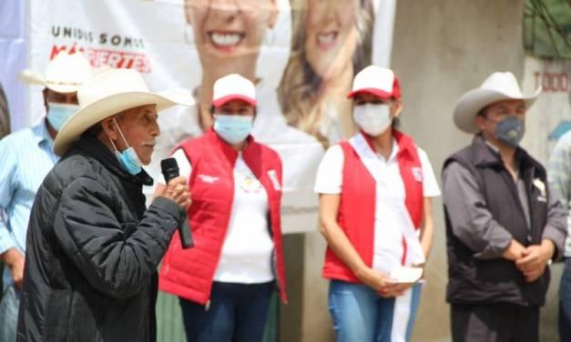 Marcia Torres buscará que apoyos gestionados sean regionalizados