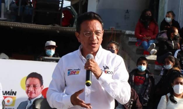 Abasto de agua y medicamentos para Hidalgo: Benjamín Rico