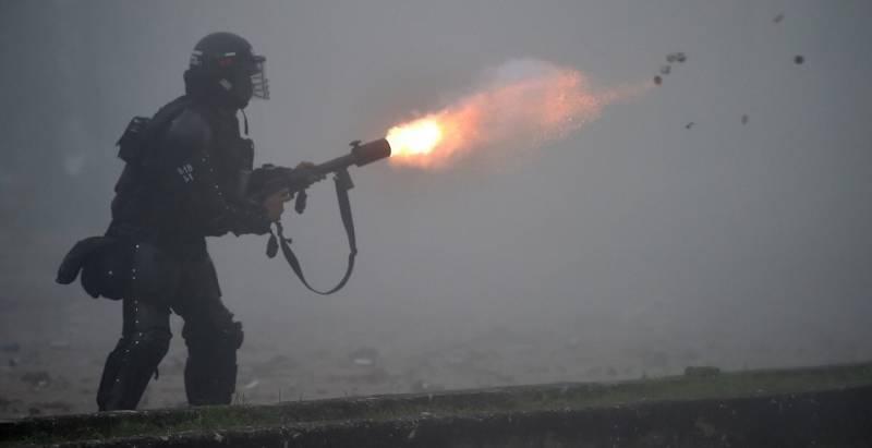ONU condena uso excesivo de la fuerza en Colombia