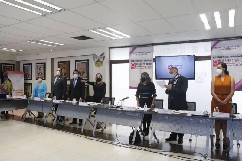 Renuevan presidencia del Observatorio de Participación Política de las Mujeres