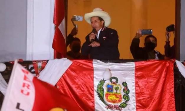 Pedro Castillo gana elecciones en Perú: Keiko pide anular actas