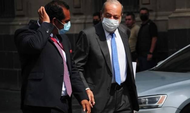 Carlos Slim niega que de tramo de la línea 12 del metro tuviera fallas de origen