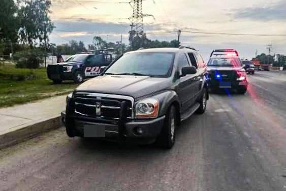 Asegura SSP Hidalgo a cuatro tras persecución en Tula