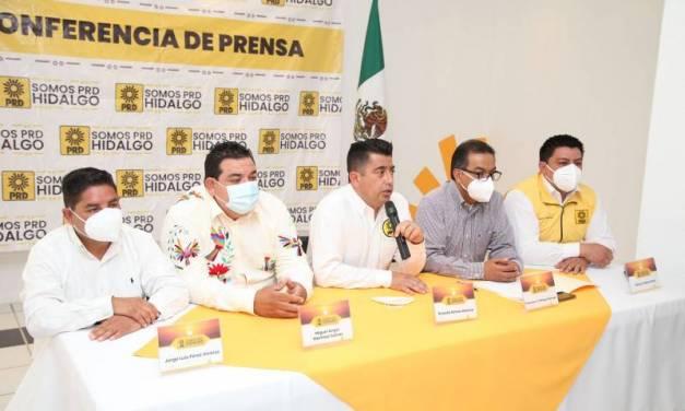 PRD reconoce respaldo del priismo en triunfo de Miguel Martínez