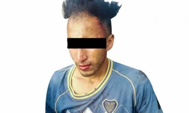 Asegura Policía Estatal a individuo tras presunto asalto en Tizayuca