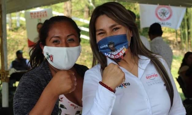 Reafirma su triunfo Sayonara Vargas como diputada federal