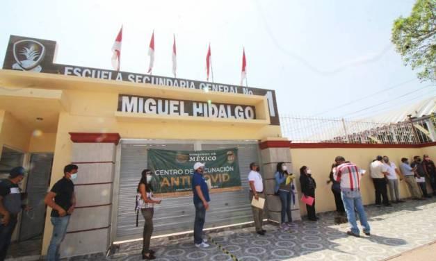 En Hidalgo fueron vacunados 74 mil 316 docentes: secretaria de Educación