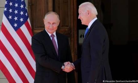 Se reúnen Biden y Putin en Ginebra
