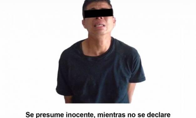 Por allanamiento, detienen a un hombre en Pachuca