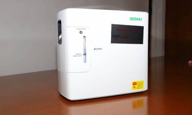 Continúa en operación Banco de Concentradores de Oxígeno