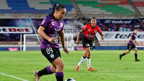 Pachuca Femenil y Charlyn Corral arrancan torneo con empate