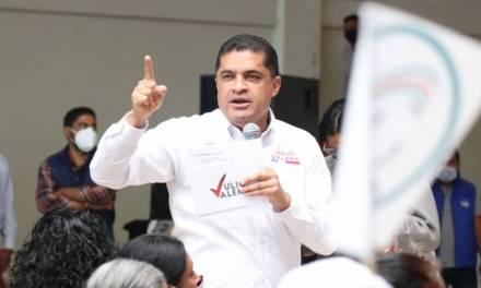 Julio Valera reafirma llamado de unidad en su partido