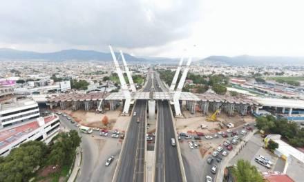 Por obras del puente atirantado reducirán circulación en Felipe Ángeles