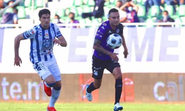 Nico Ibáñez se estrena, pero Pachuca pierde