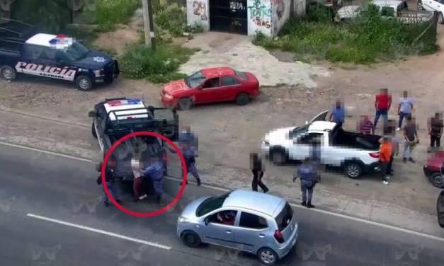 Operativo permite captura de dos hombres por robo de vehículo