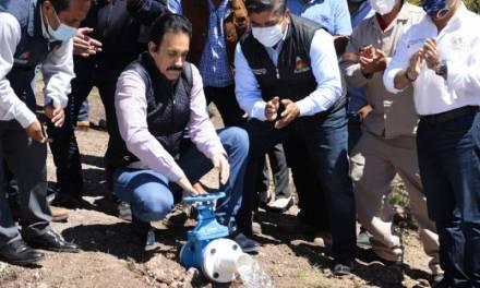 Inaugura Fayad obra en El Arenal que beneficiará a 2 mil habitantes