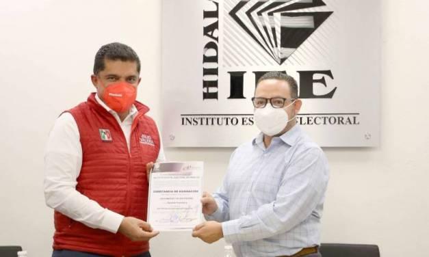Diputados plurinominales del PRI reciben constacia de acreditación