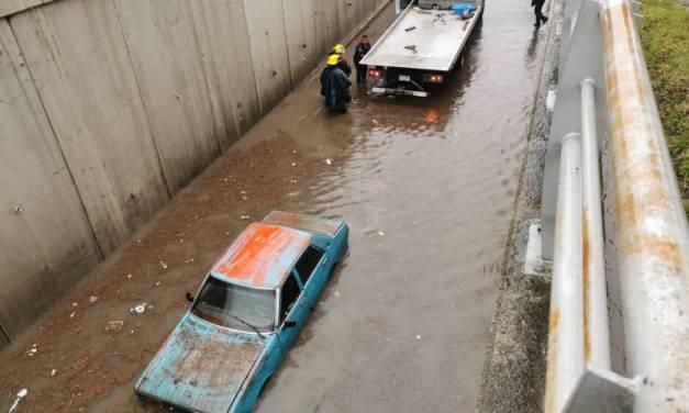 Reportan inundaciones en diferentes puntos de Pachuca