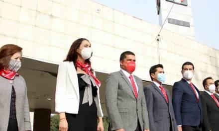 Encabeza Julio Valera ceremonia de la Independencia de México