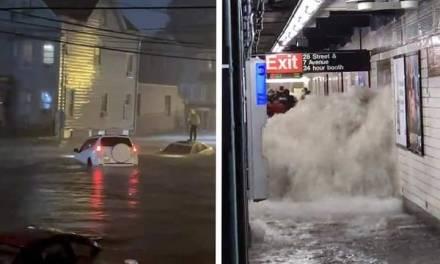 Reportan 23 muertos, entre ellos un bebé en Nueva York, por lluvias