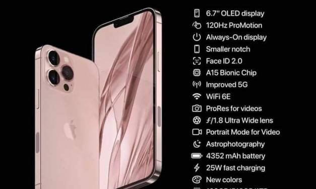 Apple presenta iPhone 13, su precio es de 42 mil pesos en la versión Max