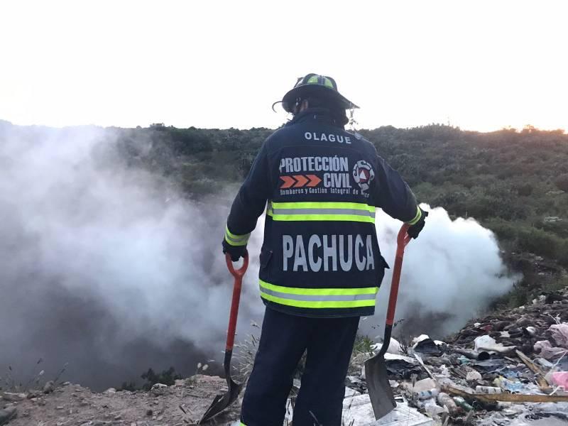 Sofocan incendio en El Huixmí