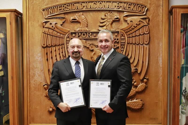 Firman convenio gobierno de Pachuca y la UNAM