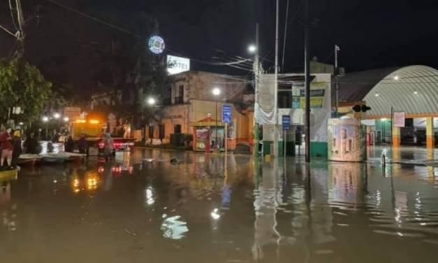 Reportan 31 mil habitantes afectados por lluvias en Tula