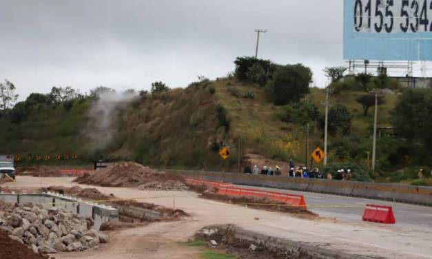 Fuga de gas en ducto de Pemex moviliza a Tepeji del Río