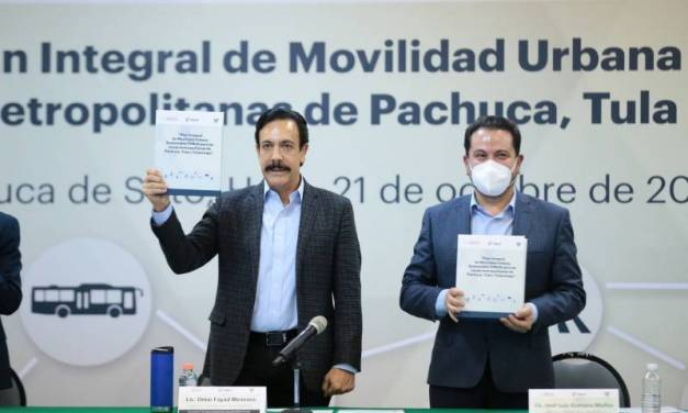 Presentan resultados del plan integral de movilidad urbana