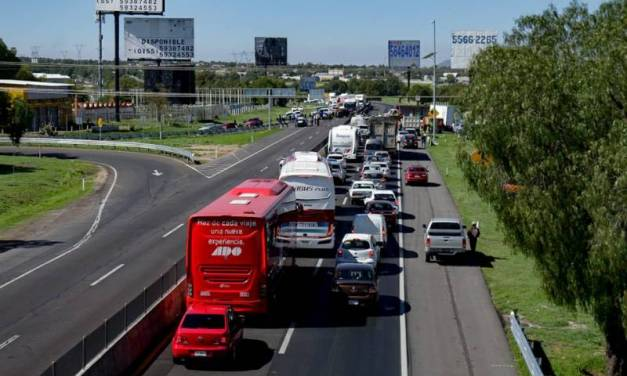 Convocan a bloqueo de la autopista México-Pachuca